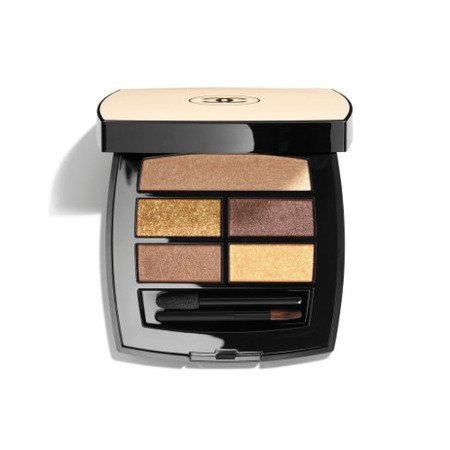 Chanel Les Beiges Palette Regard Belle Mine Naturelle Paleta 5 Cieni Deep