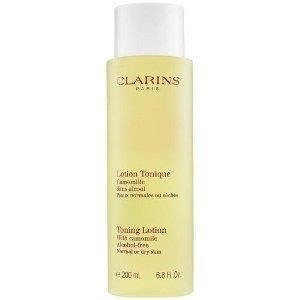 Clarins Toning Lotion With Camomile Tonik do demakijażu do cery normalnej i suchej 400 ml