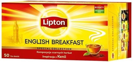 Lipton Taste Of London herbata czarna 50 torebek 100g