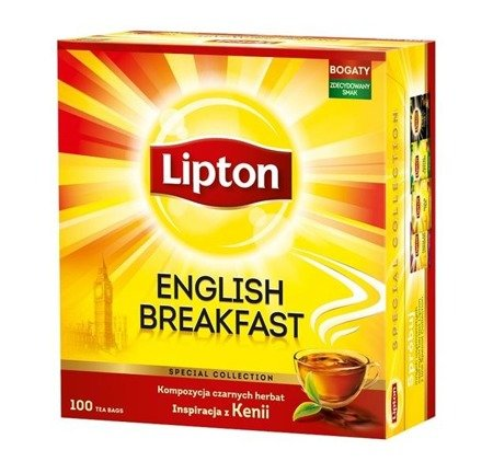 Lipton Taste of London herbata czarna 100 torebek 200g