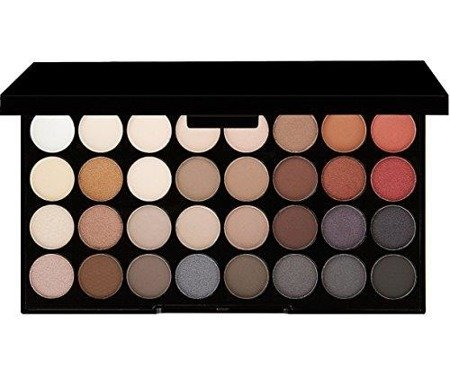 Makeup Revolution Ultra Eyeshadows Flawless 2 paleta 32 cieni 20g