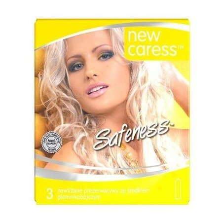 New Caress Safeness lateksowe prezerwatywy 3szt