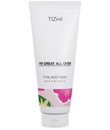 Tizmi Total Body Wash żel pod prysznic Peonia & Wanilia 200ml